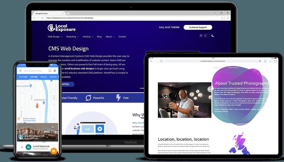 Web Design Nottingham Affordable Websites Local Exposure